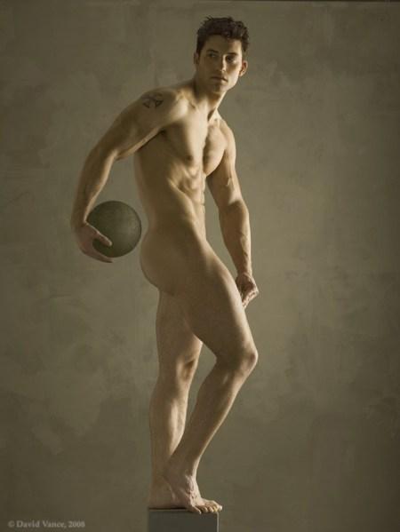 Statuesque Male Nude