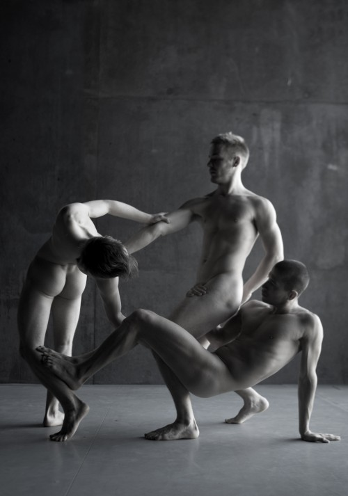 The Naked Dance by Yang Wang - Naked Male Art