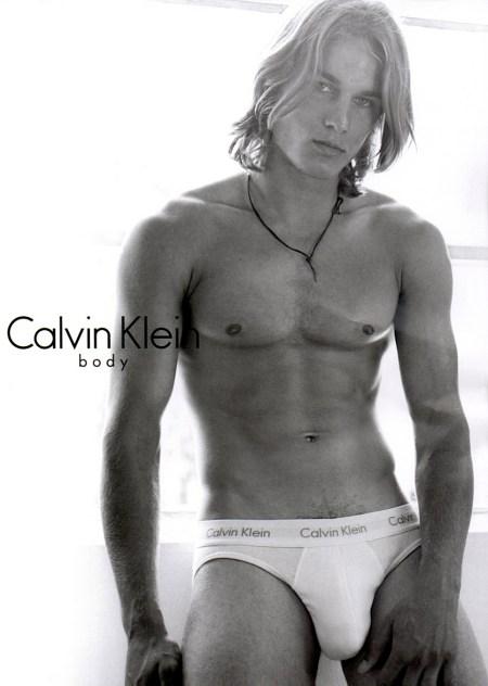 Travis Fimmel - For Calvin Klein