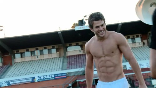 David Wolfman Williams - Gorgeous Rugby Muscle