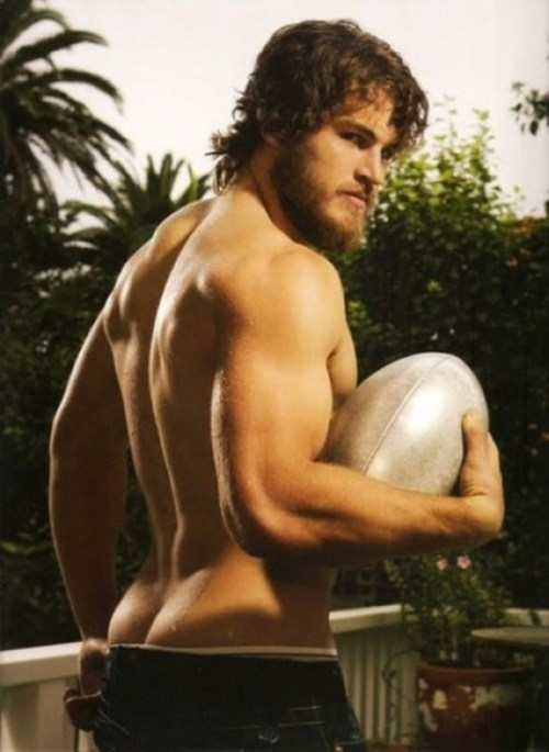 David Wolfman Williams - Hot Rugby Dude