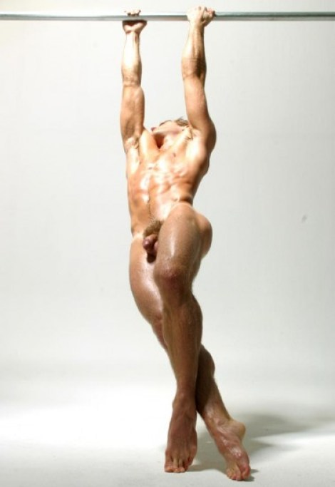 Joseph Sayers - Naked and Muscled
