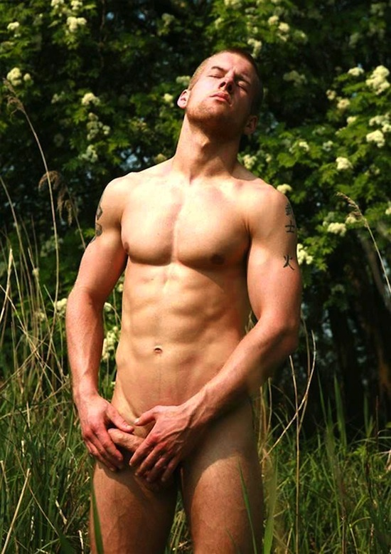 Adam coussins naked nude
