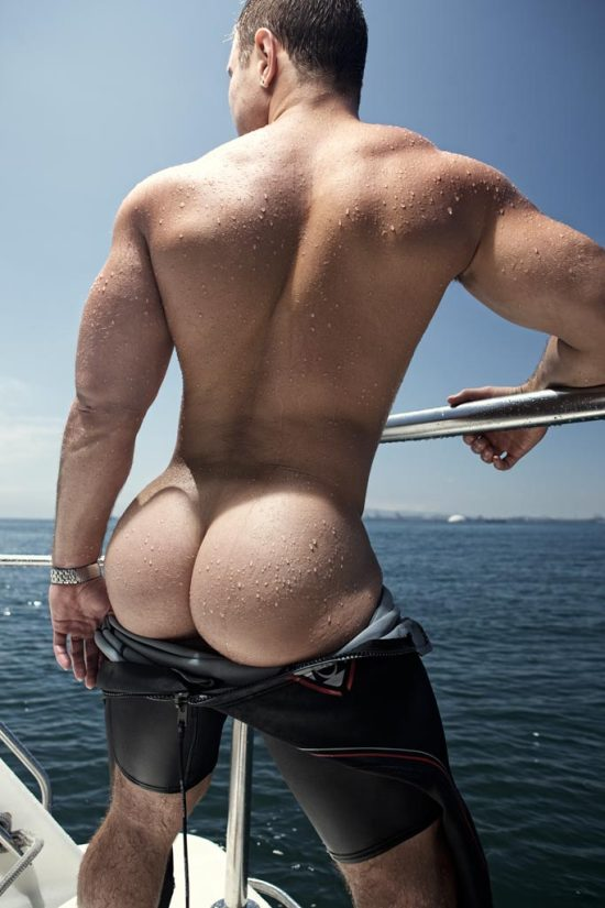Sexy Muscle Butt Nick Sterling