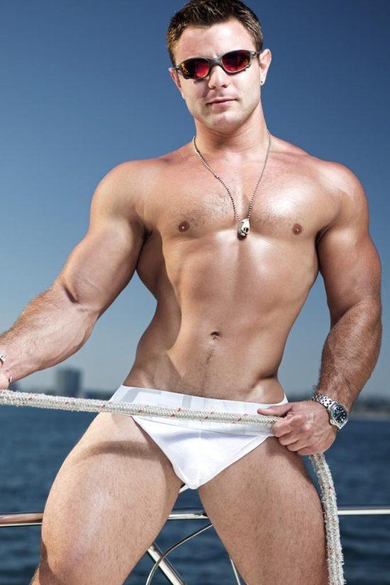 Gorgeous Muscle Jock Nick Sterling