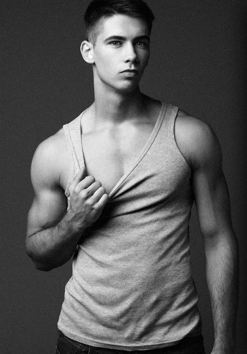 Lean Muscled Model Patryk Kaczmarek