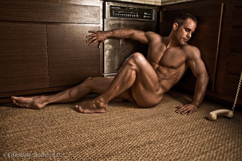 Mark Henderson - Gorgeous Muscle Man Naked