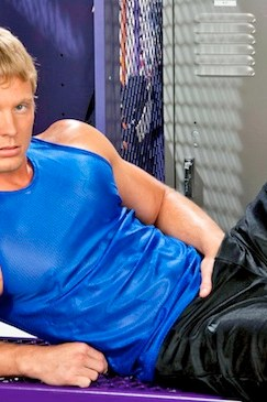Locker Room Jock James Huntsman
