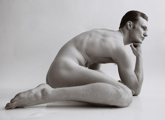 Male models posing nude