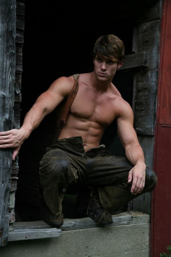Male Model Leighton Stultz Naked (2)