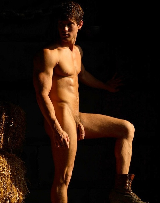 Male Model Leighton Stultz Naked (6)