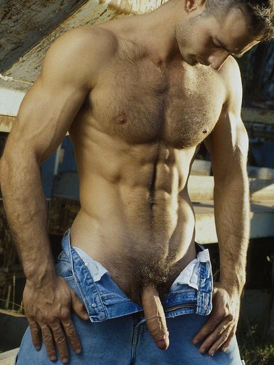 Cute naked hairyish hunks