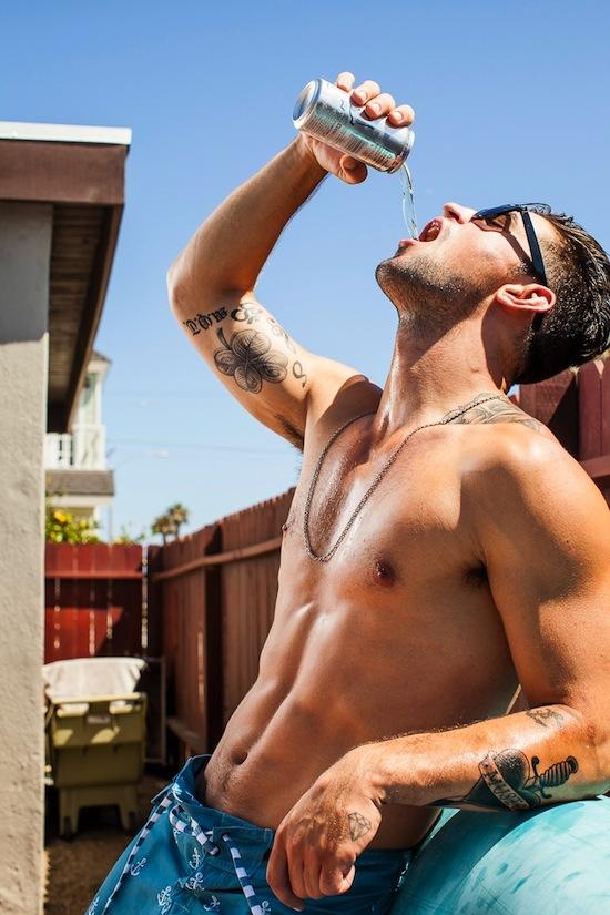 Getting Wet With Benjamin Godfre (6)