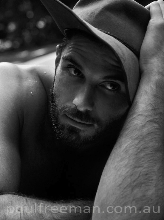 Hairy And Rugged Men Naked (7)