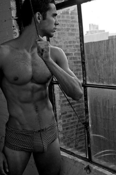 Mystery Muscle Hunk - In Underwear (1)
