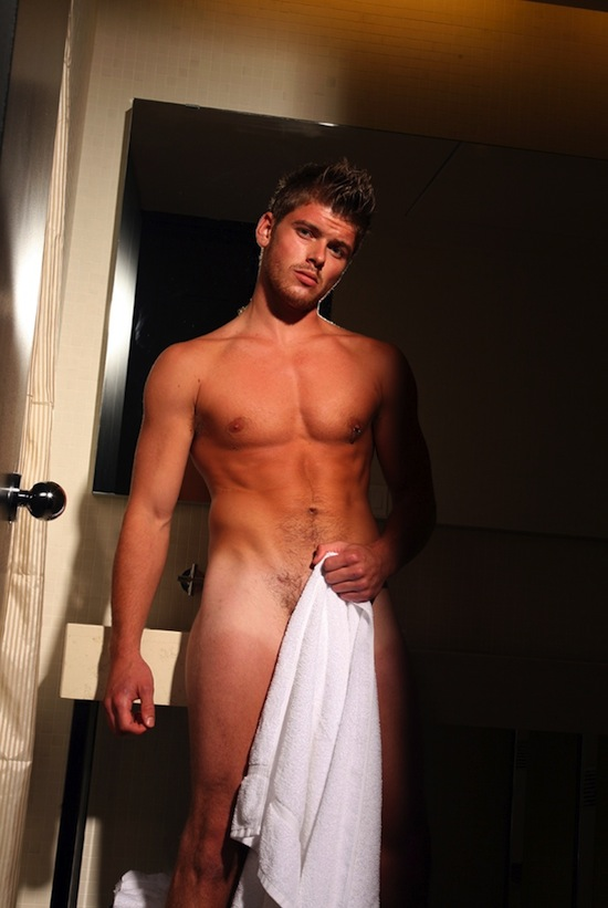 Hot Naked Guy In The Shower (1)