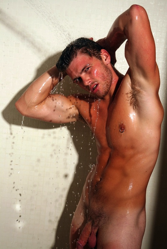 Hot Naked Guy In The Shower (3)