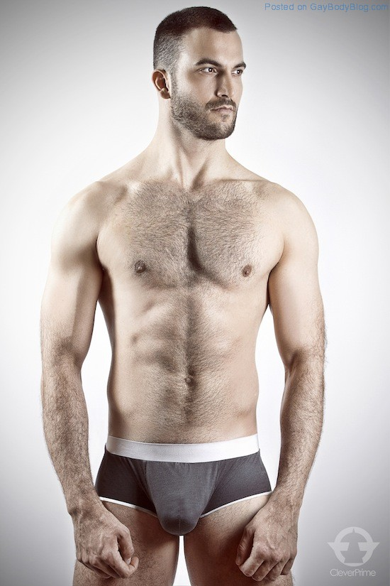 Hairy Hunk With Some Cock Bulge (5)