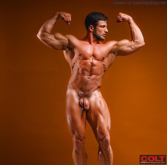 Naked Bodybuilder Rick Wolfmier (8)