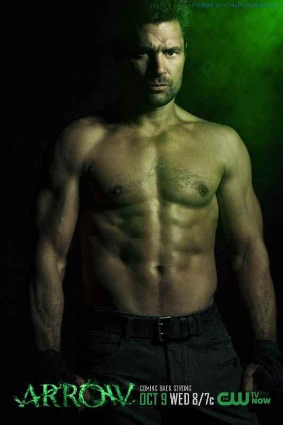 A Shirtless Stephen Amell 7