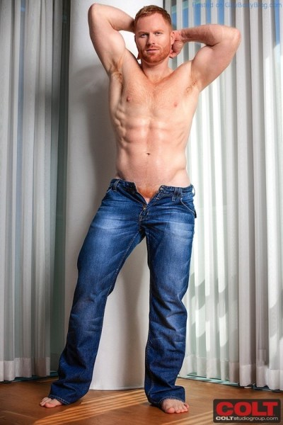 New Hunky Red Headed Muscle Man Seth Fornea 1