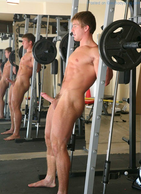Nude male gym