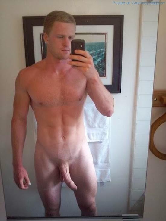 Naked selfie men male