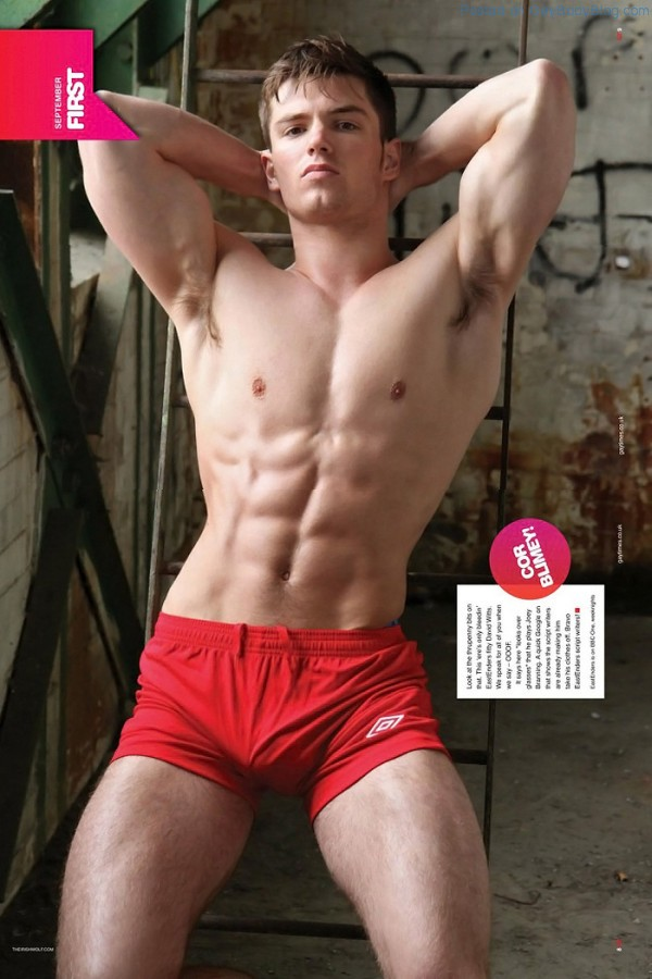 David Witts Is Proud Of His Bulge 2