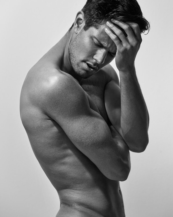 Handsome And Hunky Model Anthony Selemidis Has A Range Of Emotions (6)