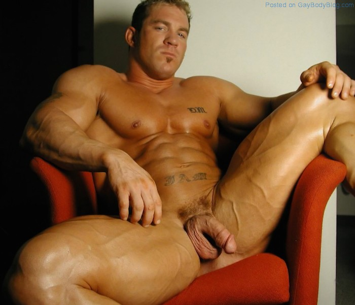 Naked muscle guys