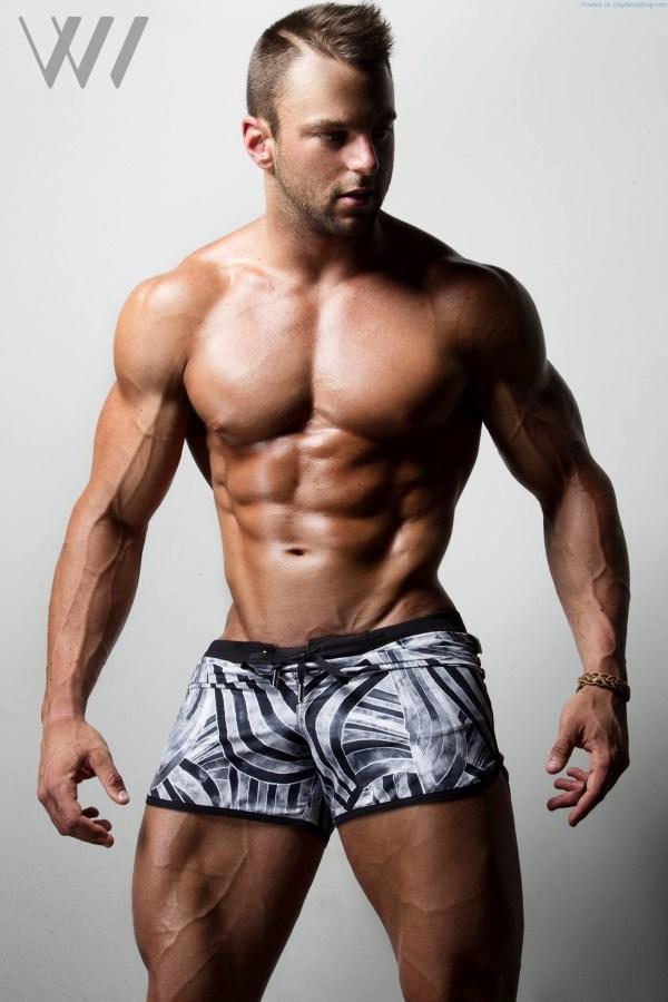 Muscle Hunk Eric Janicki By Eric Wainwright 2