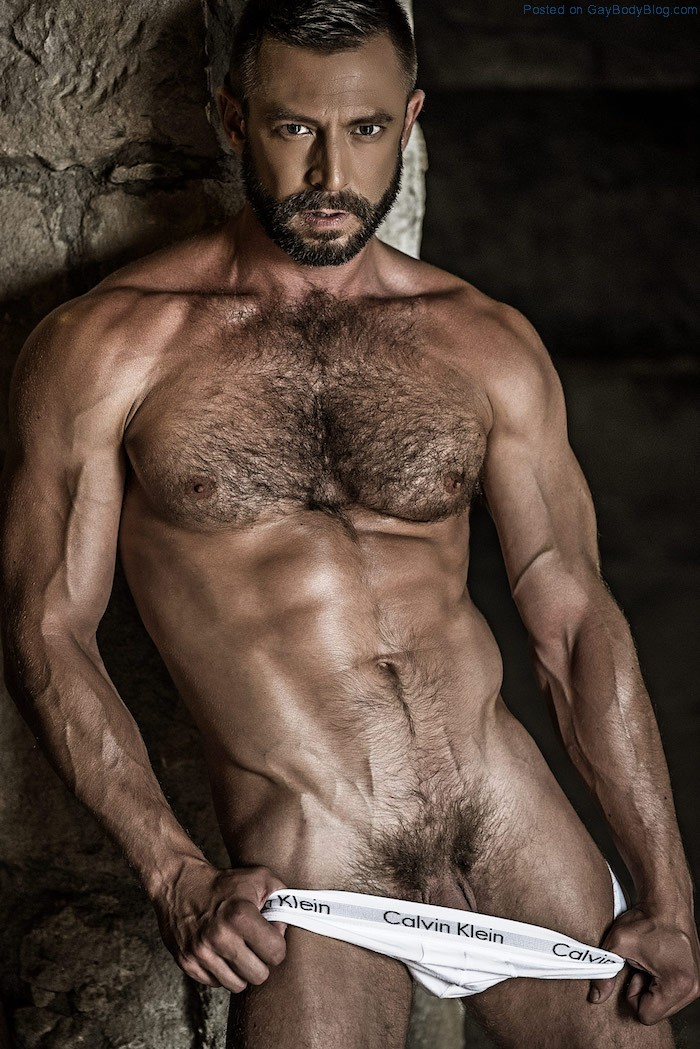 French hirsute uncut hunks