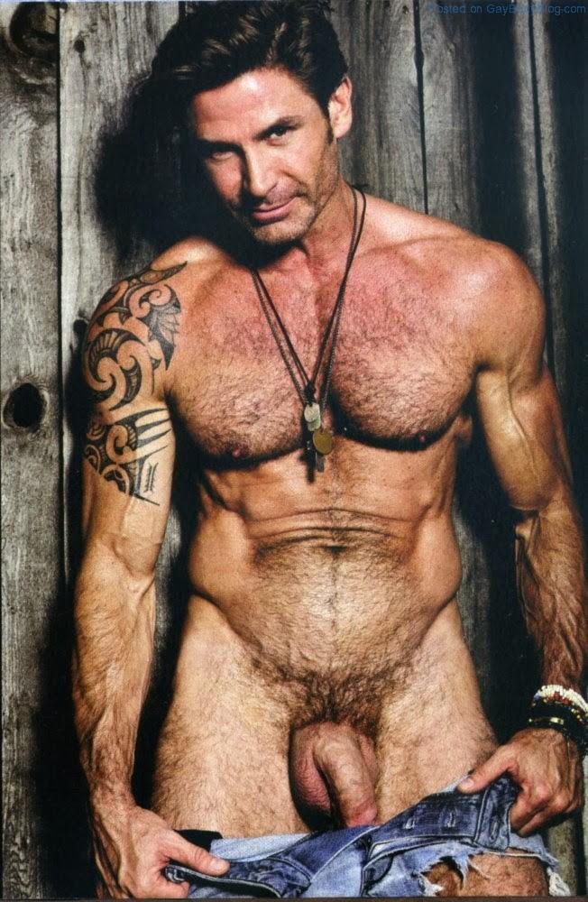 Shafer dirk playgirl naked centerfold