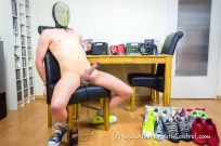 Cum or Faint? - Naked Breath Play and ESTIM extreme - Part 1
