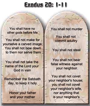 10 commandments of god # 8