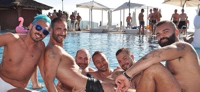 Maspalomas Winter Pride pool party