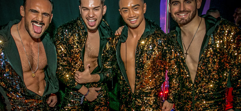 Angeles gay party