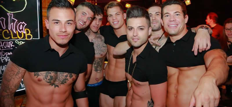 Piranha Nightclub gay club Las Vegas