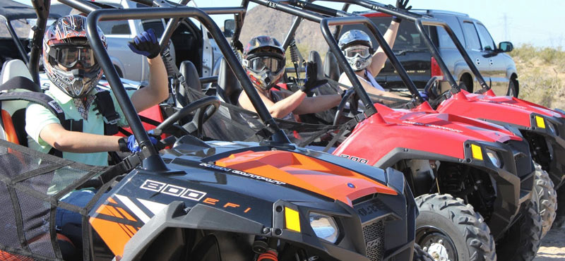 Hidden Valley and Primm Valley Extreme RZR Tour