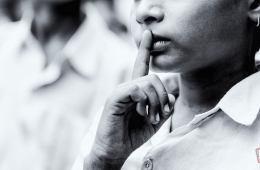 'लिहाफ मेरे मोहल्ले में | छाया: बिनीत पटेल | सौजन्य: QGraphy