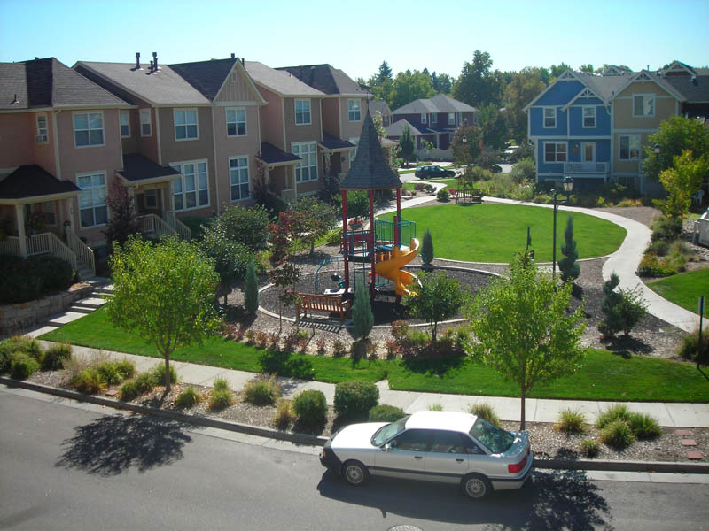 How a Community in Denver Was Designed to Create Interaction of Its ...