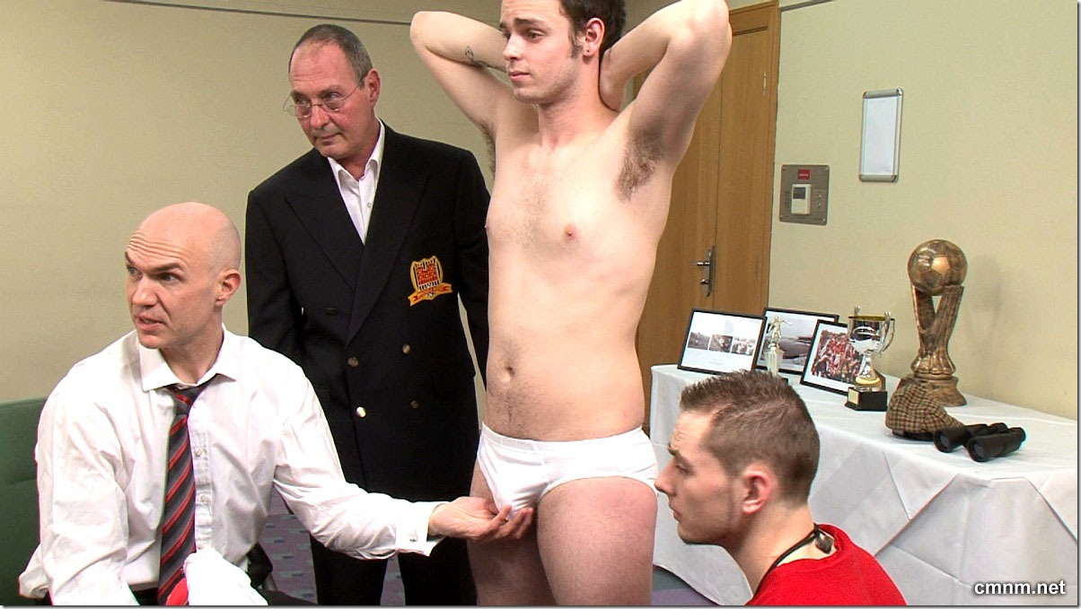 clothed male naked male Footballer Paul Stripped (3)