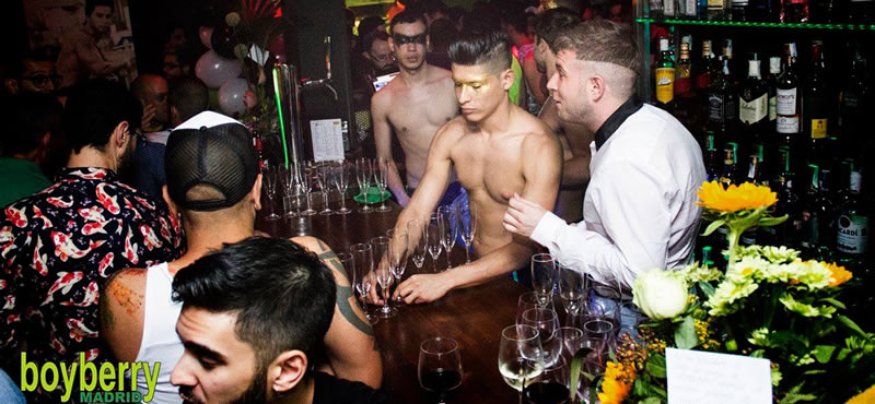 Boyberry gay bar Madrid