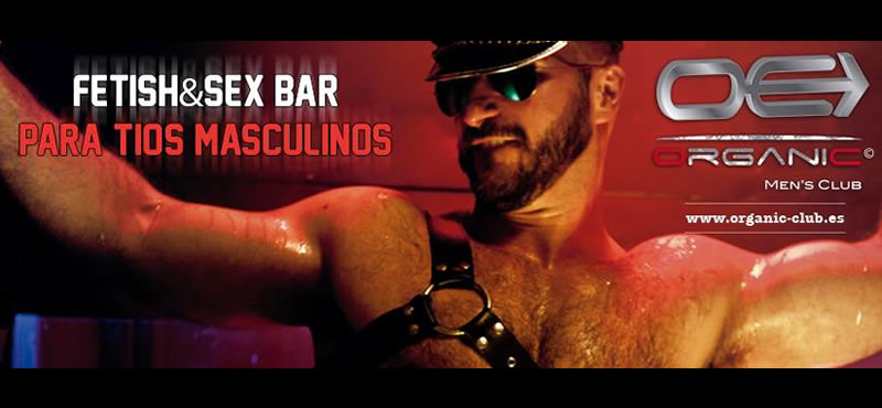 Organic Men's Club gay bar Madrid