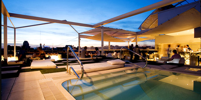 Cocktails at Splash Roof Terrace