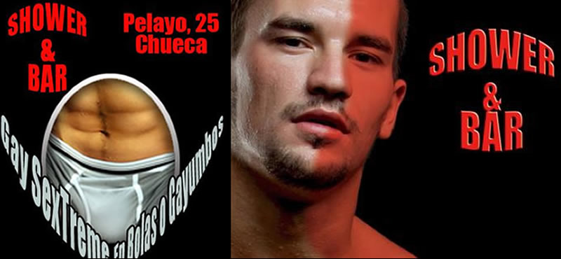 shower bar gay bar Madrid