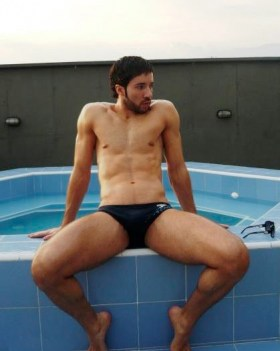 Hotties in Speedos: Swimmers, Surfers, Divers, Water Polo Players, Cyclists, Body Builders ...
