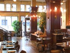 Dining Room at Cafe de la Presse, San Francisco, CA