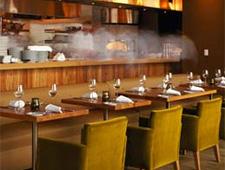 Dining Room at Americano, San Francisco, CA