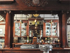 Dining Room at Comstock Saloon, San Francisco, CA